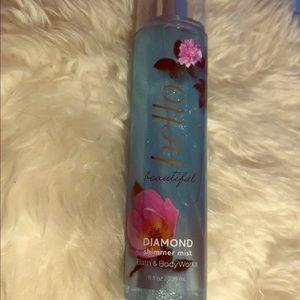 Bath and body works shimmer spray